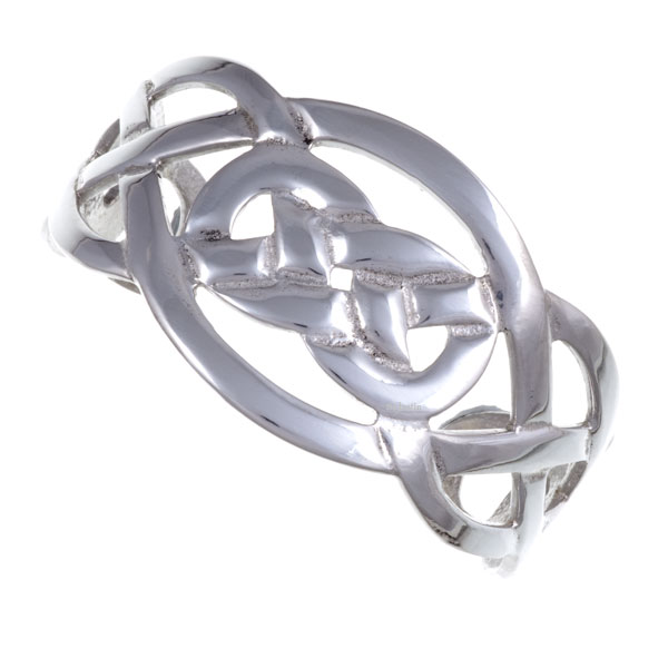 Celtic Knot Open Bangle