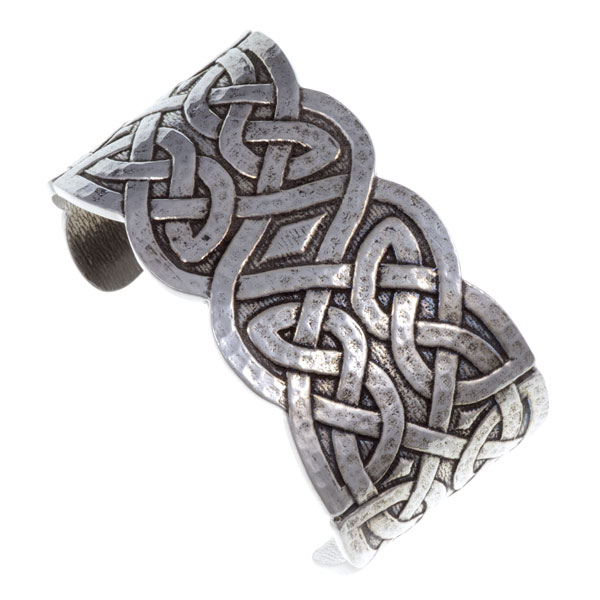 Celtic Cuff Bangle