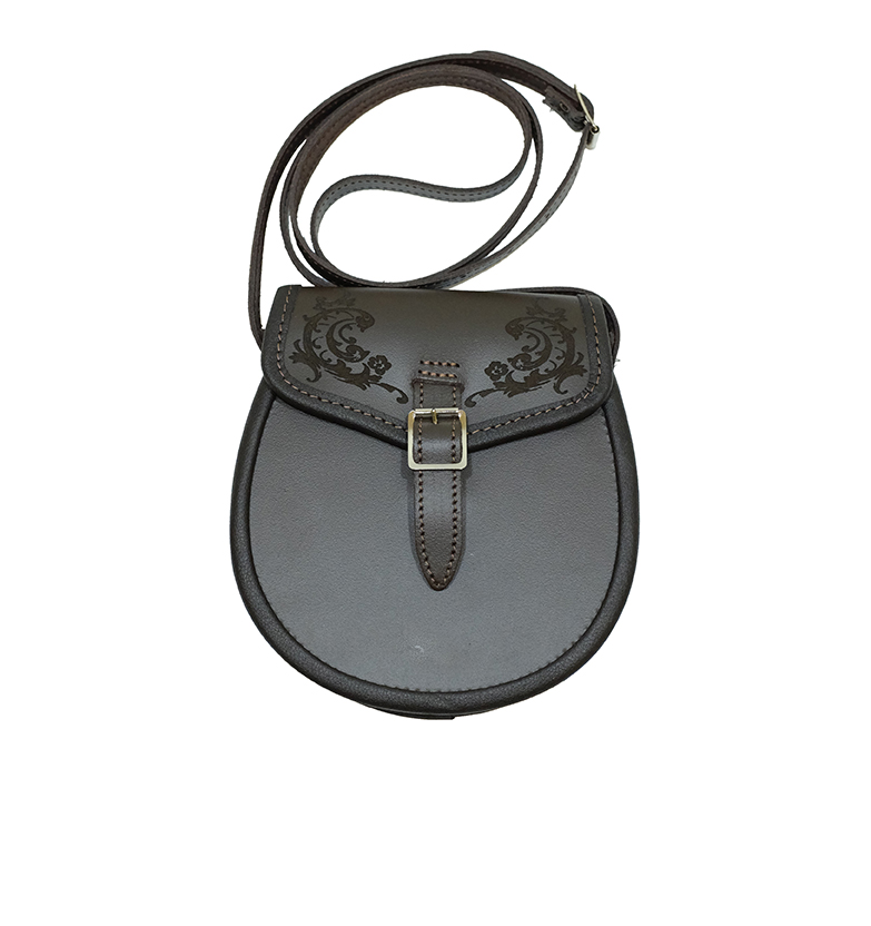 Scottish Ladies Leather Sporran Purse