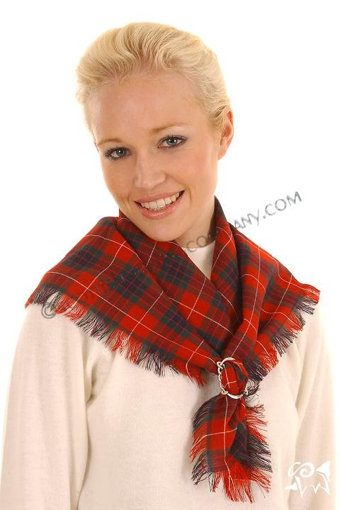 Scottish Tartan Ladies Neck Scarf