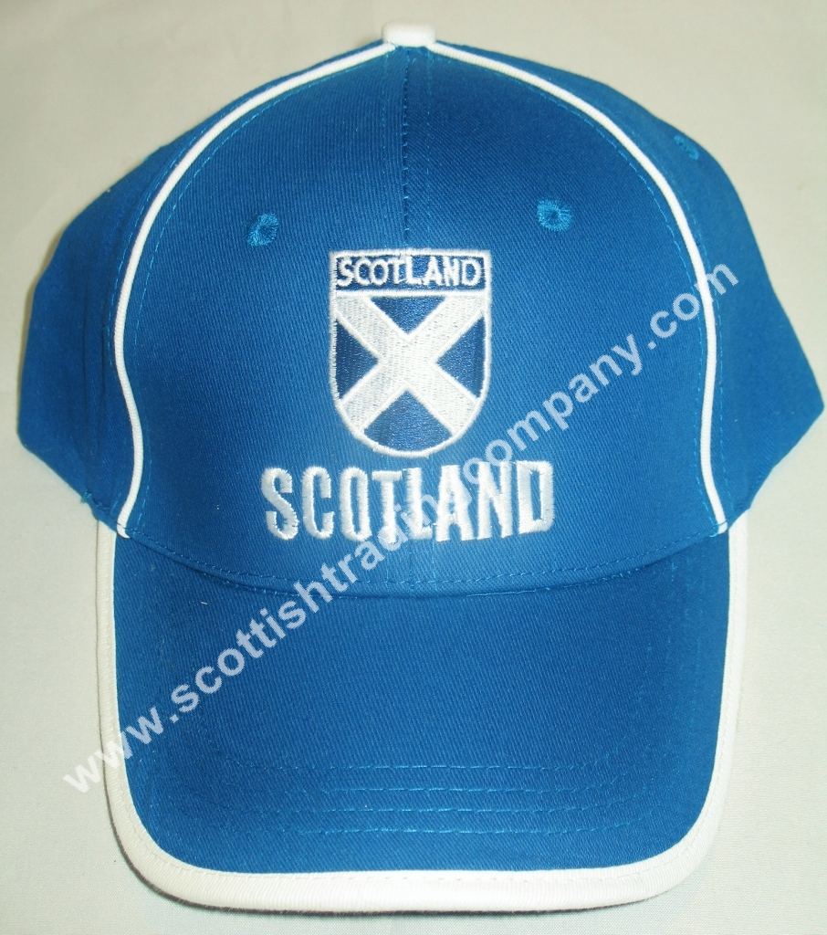 Scotland Shield Saltire Baseball Hat