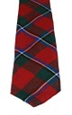 Sinclair Clan Modern Red Tartan Tie