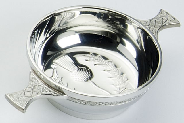 Thistle Bowl Quaich
