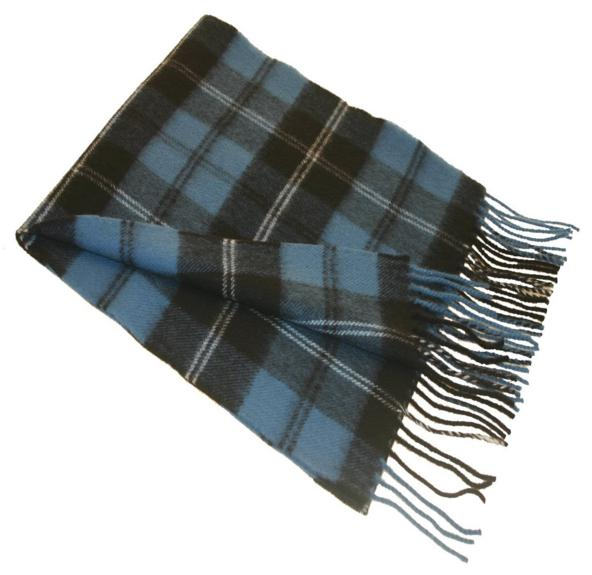 Ramsay Blue Large Tartan Blanket - Click Image to Close