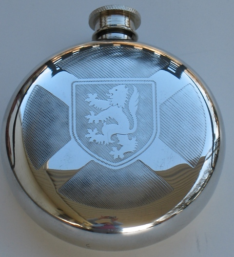 Scotland Flags Round Flask