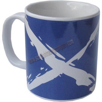 Scottish Saltire Flag Mug