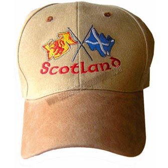 Scottish Crossed Flags Hat
