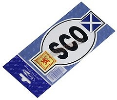 Scotland Euro Car Sticker