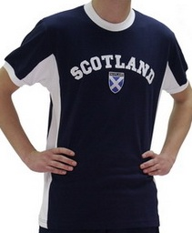 Dark Blue Scotland Shirt