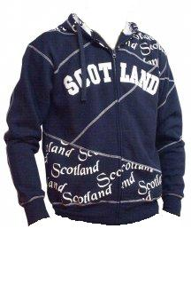 Scotland Hoodie in Navy Blue