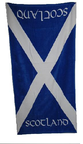 St. Andrews Cross Beach Towel