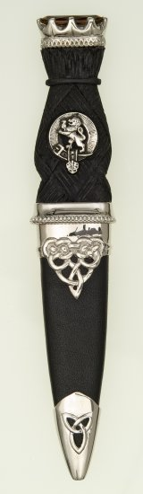 Deluxe Stone Top Clan Sgian Dubh