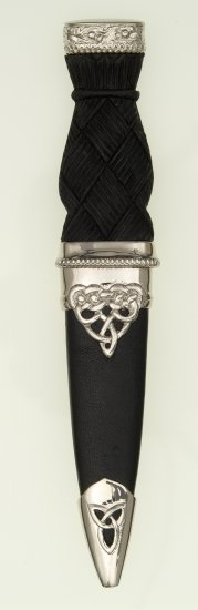 Deluxe Polished Top Sgian Dubh