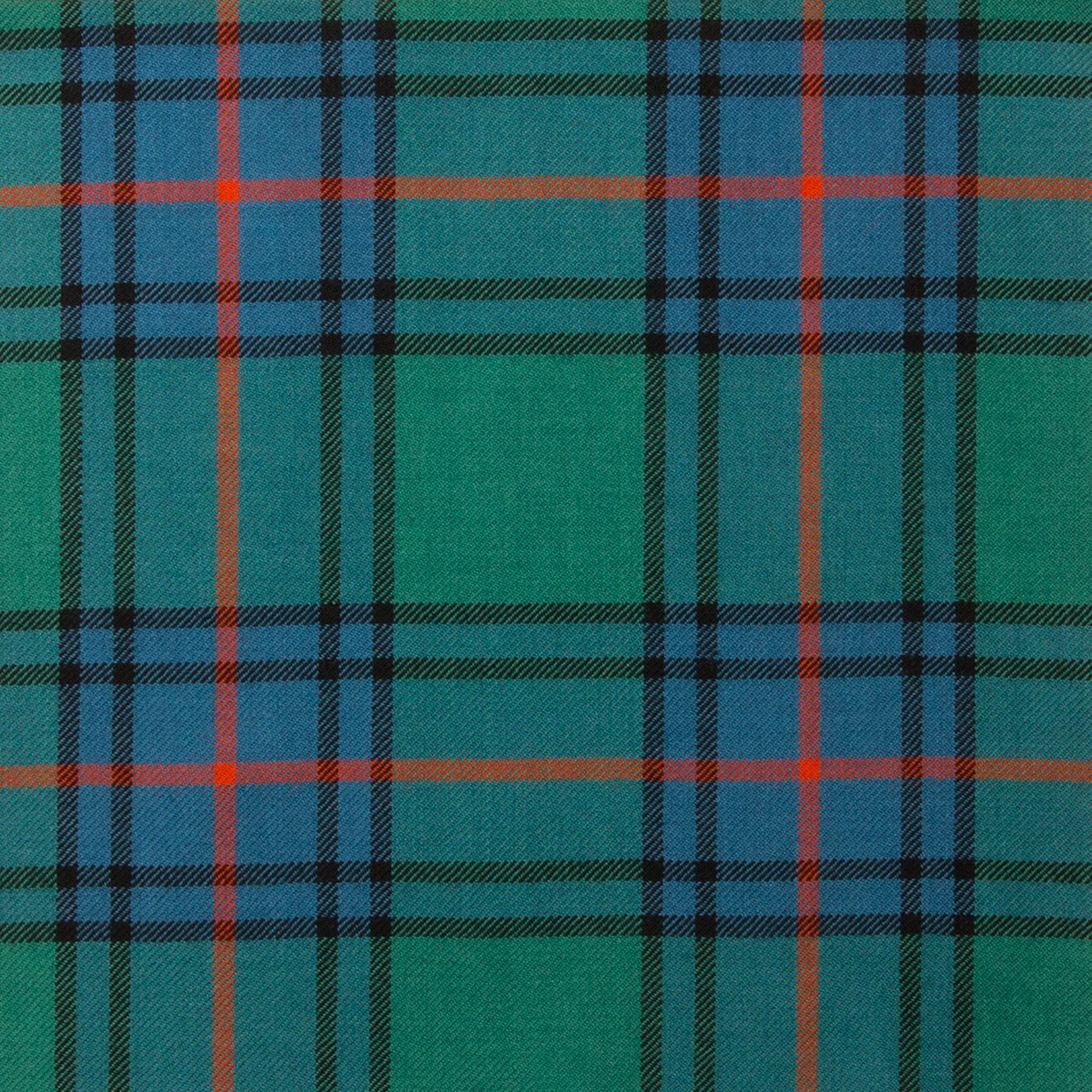 Shaw Green Ancient Tartan Fabric