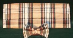 Silk Tartan Bow Tie and Cummerbund Set