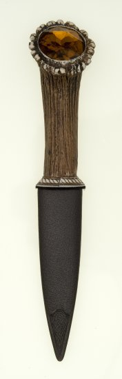 Stag Sgian Dubh Knife