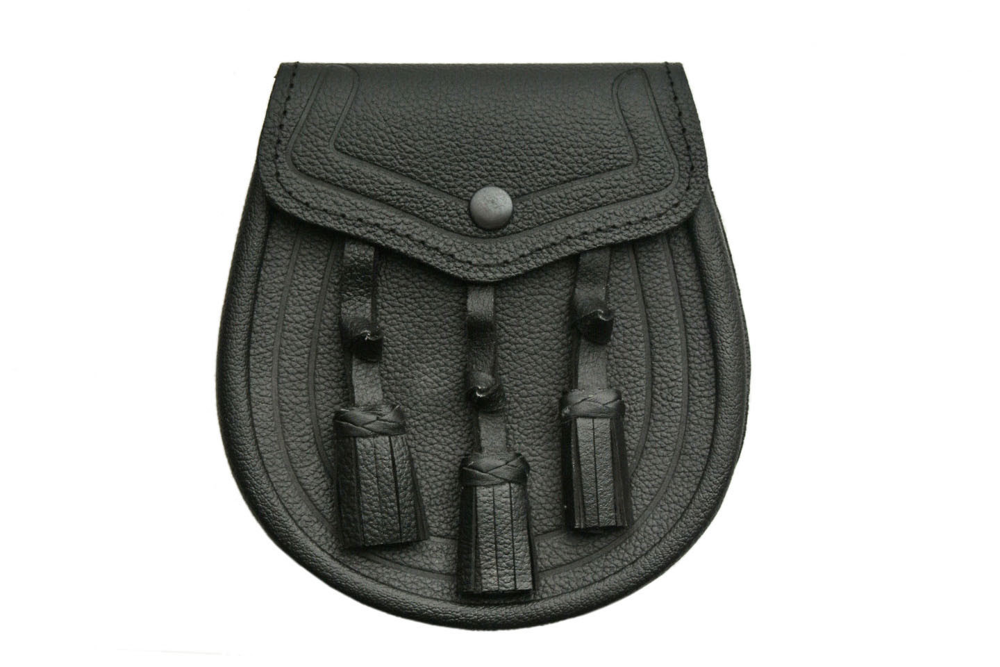 Basic Edged Tri Tassle Sporran