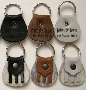 Scottish Sporran Personalized Wedding Key Rings (30)