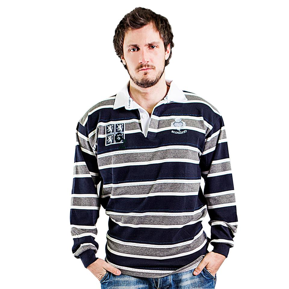 Striped Scotland Rugby