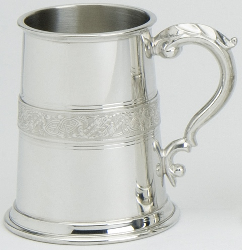 Celtic Serpent Tankard