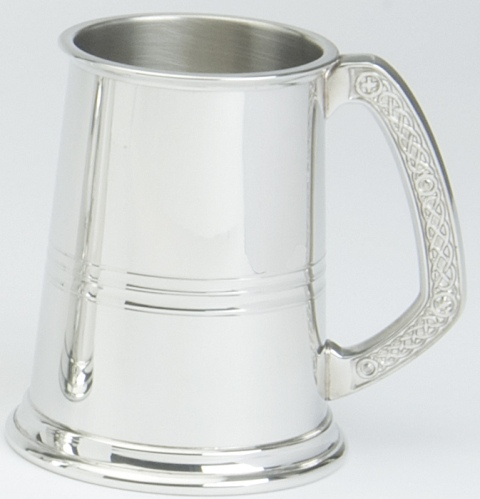 Celtic Handle Tankard