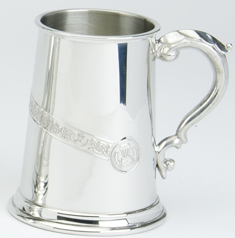 Celtic Thistle Tankard