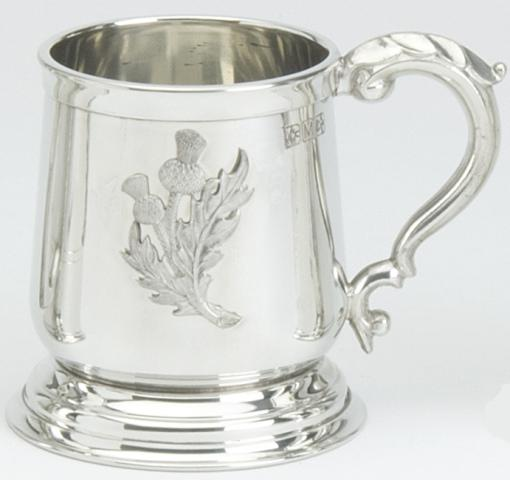 Thistle Badge Tankard