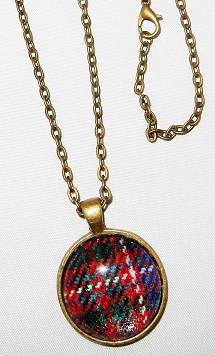 Scottish Tartan Pendant