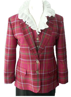 Ladies Tartan Jacket