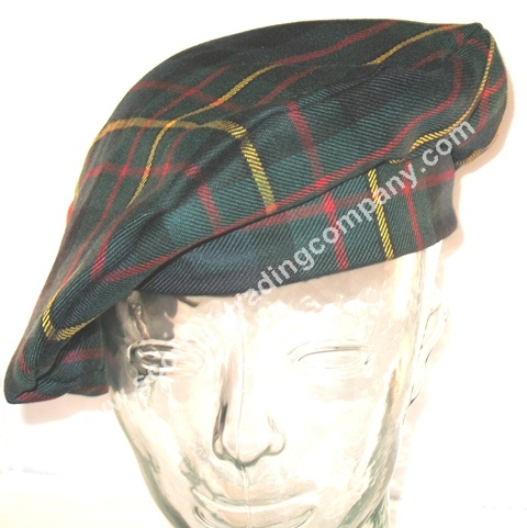 Tartan Scottish Bonnet