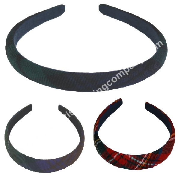 Tartan Narrow Headband