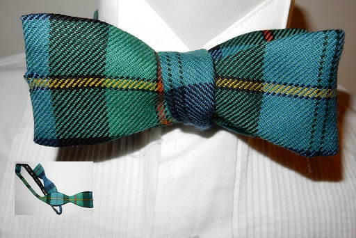 Self Tie Scottish Tartan Bow Tie