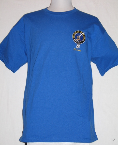 Embroidered Clan Badge T Shirt
