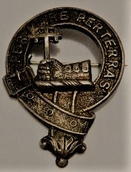 Vintage Scottish Clan Badge MacDonald #1