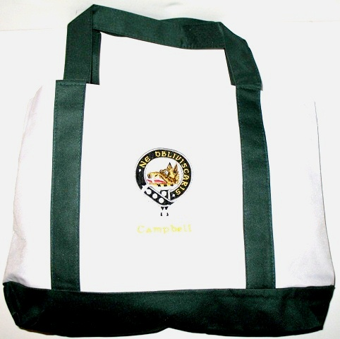 Embroidered Clan Badge Tote