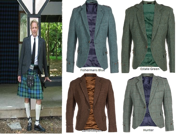 Tweed Argyll Jacket