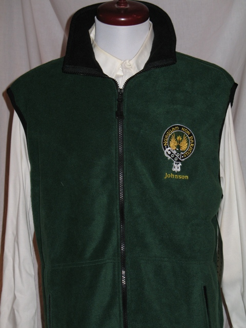 Tweed Argyll Five Button Vest