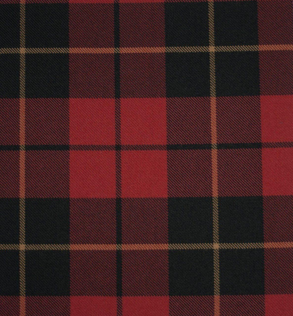 Wallace Weathered Heavy Weight Tartan Fabric