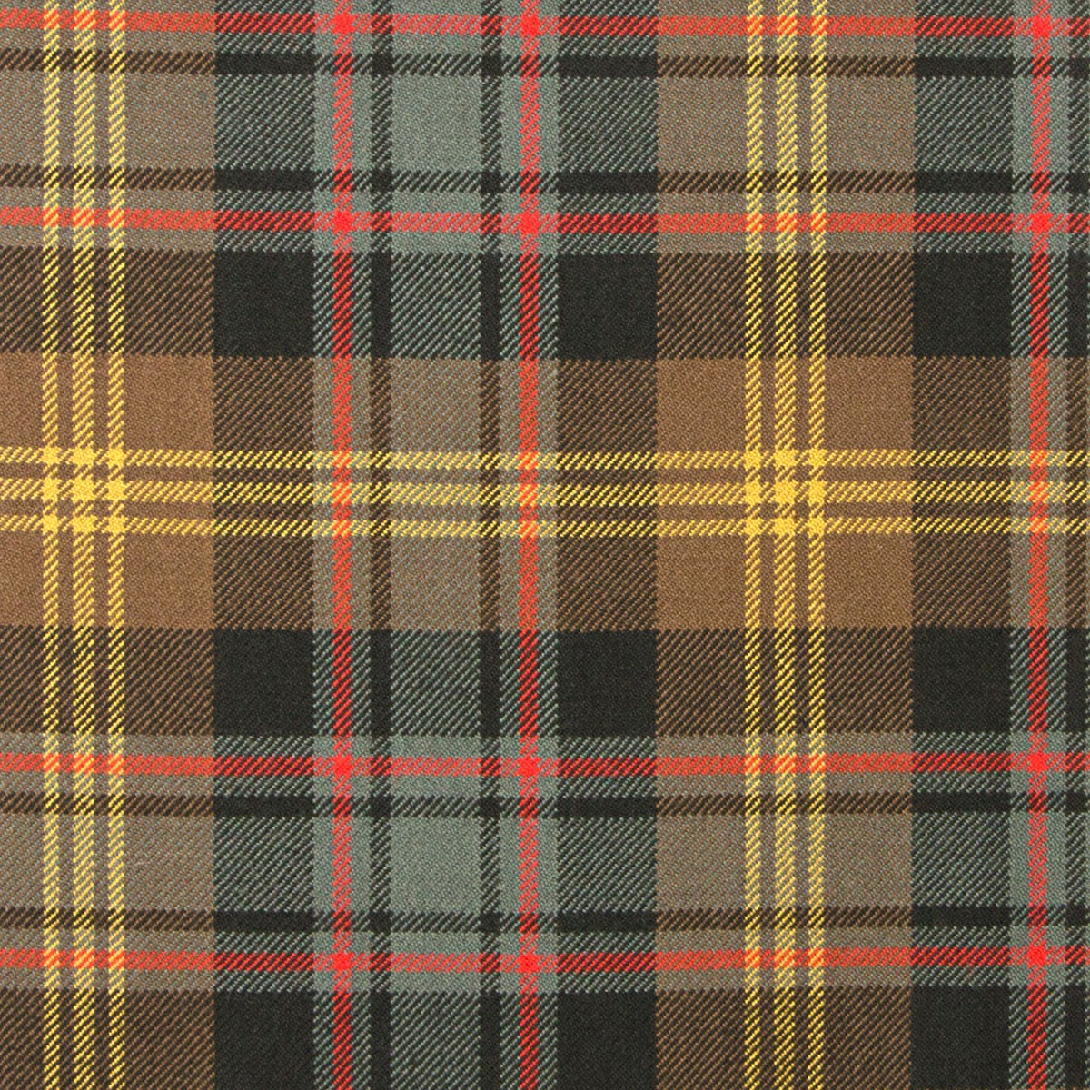 Watson Weathered Heavy Weight Tartan Fabric