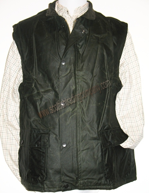 Waxed Vest