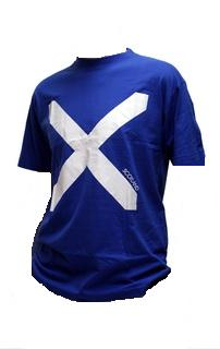 Saltire Shirt in Royal Blue