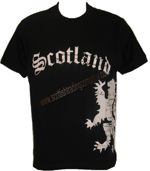 Scotland Lion T Shirt