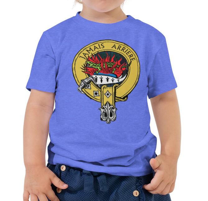 Childrens Scottish Clan Badge Shirt