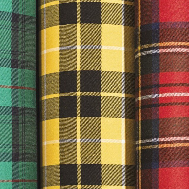 Strome Tartan Fabric by Name