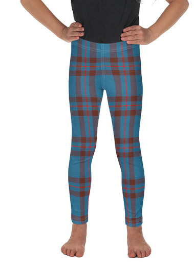 Kids Scottish Tartan Leggings