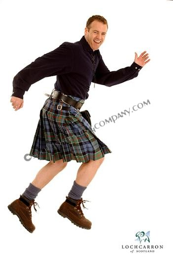 4 Yard Strome 16oz. Casual Kilt in Standard Tartans