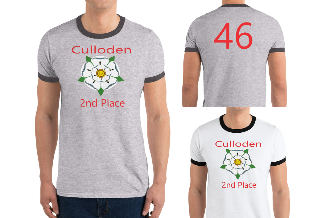 Culloden 2nd Place T Shirt