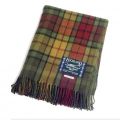 Buchanan Autumn Tartan Blanket