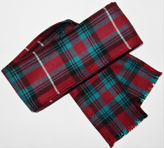 Scottish Tartan Handfasting Wrap 13oz Braeriach Tartans