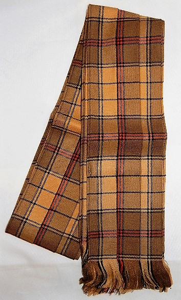 Mini Fly Plaid in Ulster Gold tartan Special!